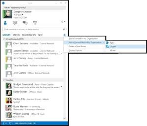 Skype Lync Example